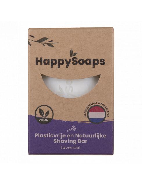 HappySoaps Shaving Bar Lavendel